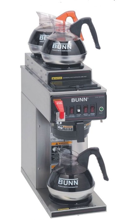 Burner Auto Brewer with Faucet