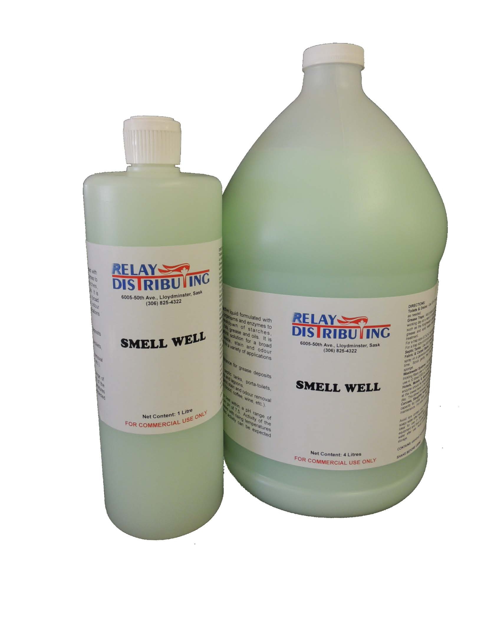 Smell well 1L and 4L